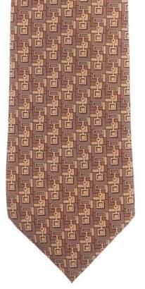 Gucci Silk Print Tie
