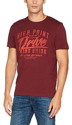 Tom Tailor Men's Racing Print Tee T-Shirt,3X-Large