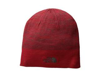 The North Face Stripe Logo Beanie