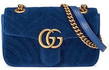 Gucci GG Marmont Velvet Mini Bag $1,290 thestylecure.com