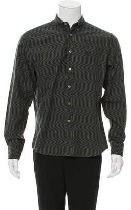 Opening Ceremony Geometric Print Button-Up Shirt