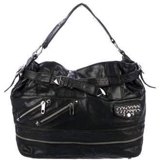 Rebecca Minkoff Leather Studded Handle Bag