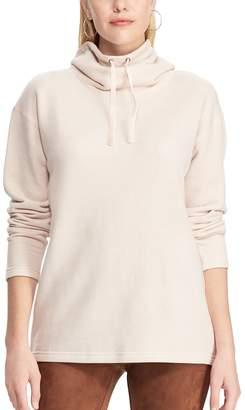 Chaps Women's Print Drawstring Turtleneck Sweatshirt