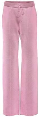 Bottega Veneta Wool and silk-blend trousers