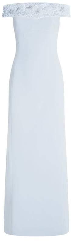 Embellished Off-The-Shoulder Gown
