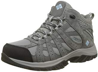 Columbia Women's Multisport Shoes, Waterproof, Canyon Point MID, Grey (Light Grey/Oxygen), Size: 7
