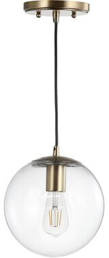 Jonathan Y Designs Bleecker 1-Light Globe Pendant Jonathan Y