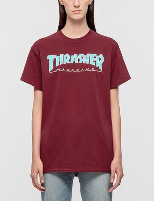 Thrasher Outlined T-Shirt $36 thestylecure.com