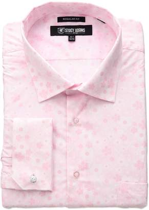 Stacy Adams Men's Floral Dress Shirt