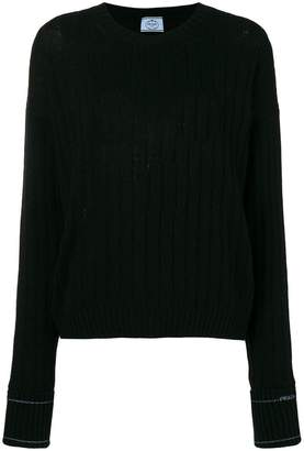 Prada cashmere ribbed sweater