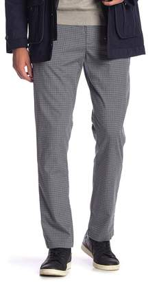 "Original Penguin Mini Plaid Slim Fit Pants - 32"" Inseam"