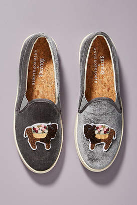 Anthropologie Soludos x Floral Bison Slip-On Sneakers