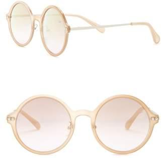 Diane von Furstenberg 51mm Round Sunglasses