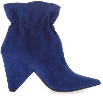 Aldo Castagna Blue Suede Boots