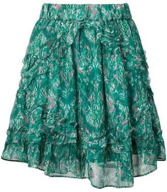 IRO floral print skirt