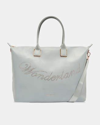 Ted Baker ASLEYY Wonderland large tote bag