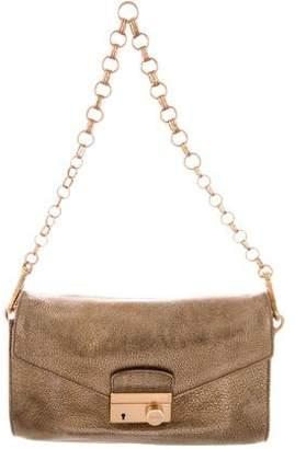 Prada Vitello Metal Sound Shoulder Bag