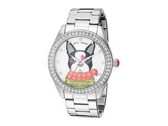 Betsey Johnson BJ00048-280 - French Bulldog Motif Dial Watch