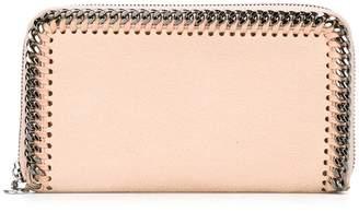Stella McCartney 'Falabella' top zip wallet