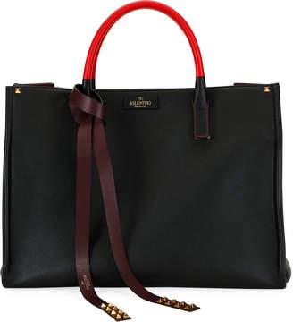 Valentino Garavani VLTN Soul Two-Tone Tote Bag