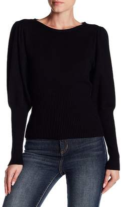 Do & Be Do + Be Puff Sleeve Crew Neck Sweater