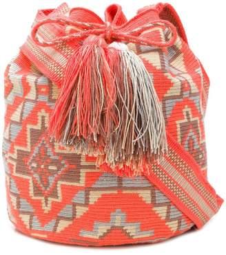 Naledi geometric pattern bag