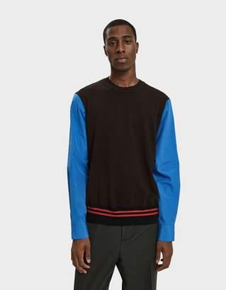 Marni Sweater in Red Black Blue