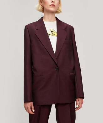 Acne Studios Single Breasted Button Suit Jacket