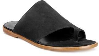 Vince Women's Edris Suede Slide Sandals