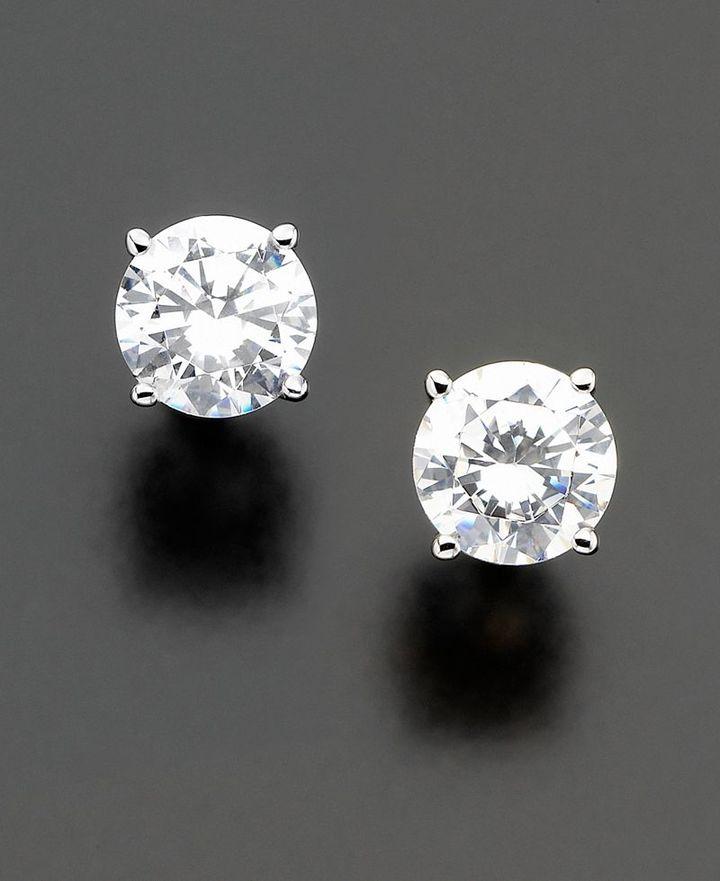 14k White Gold Certified Diamond Stud Earrings (1 ct. t.w.)