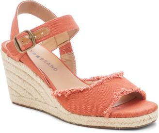 Lucky Brand Mindra Espadrille Wedge Sandal