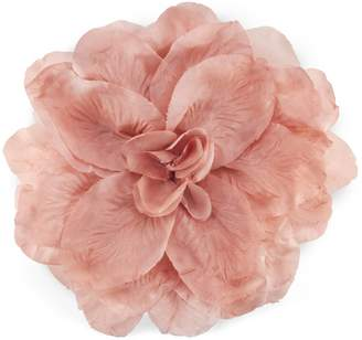Gucci Flower brooch in silk and cotton