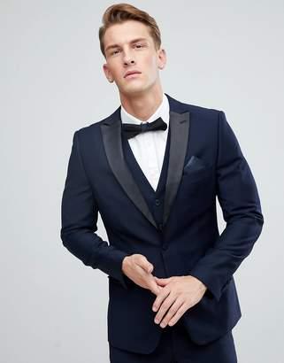 French Connection Peak Lapel Slim Fit Tuxedo Jacket
