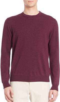 Saks Fifth Avenue Long Sleeve Merino Wool Sweater