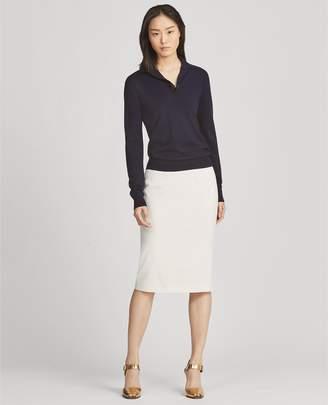 Ralph Lauren Cindy Stretch Wool Skirt