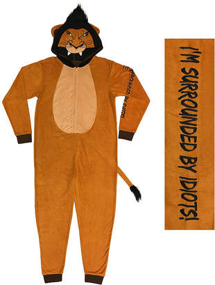 Disney Licensed Union Suit The Lion King Fleece One Piece Pajama