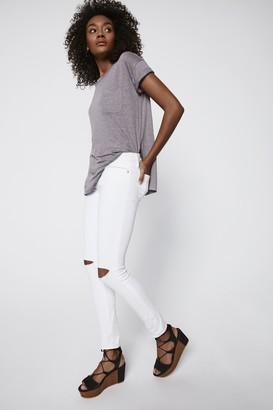 Midrise Thompson Jean - White 31 Size