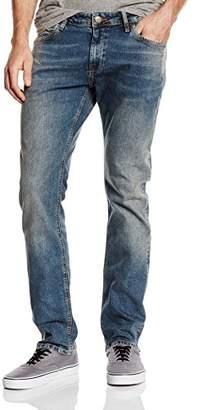 Cross Men's F 195-061 Slim Jeans - Blue - W28/L32