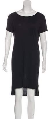 Alexander Wang Short Sleeve Knee-Length Dress