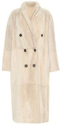 Brunello Cucinelli Reversible shearling and leather coat