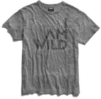 Todd Snyder IAMWILD® Graphic Tee In Salt And Pepper