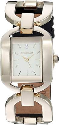 Steve Madden Women's Quartz Gold-Tone and Alloy Fashion Watch