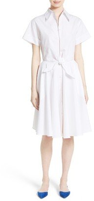 Women's Diane Von Furstenberg Cotton Shirtdress $348 thestylecure.com