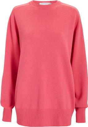 Victoria Beckham Pink Cashmere Sweater