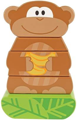 Stephen Joseph Monkey Wooden Mini Stacking Puzzle