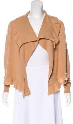 By Malene Birger Draped Cashmere Cardigan