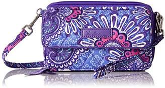 Vera Bradley Womens' All In One Crossbody for Iphone 6+