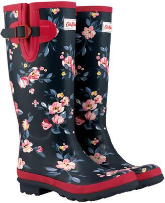 Cath Kidston Paintbox Flowers Printed Wellington Boot