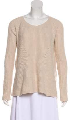 The Row Rib Knit Scoop Neck Sweater