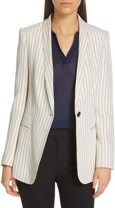 Judith & Charles Samba Stitch Stripe Jacket